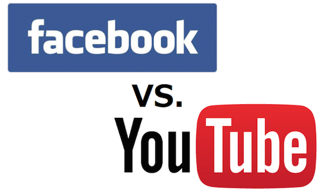 Facebook対YouTube