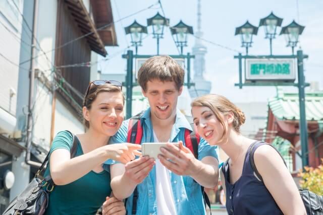外国人旅行客