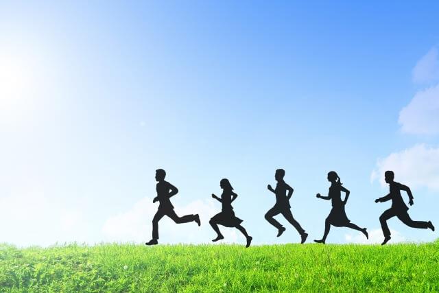 走る人のイメージ
