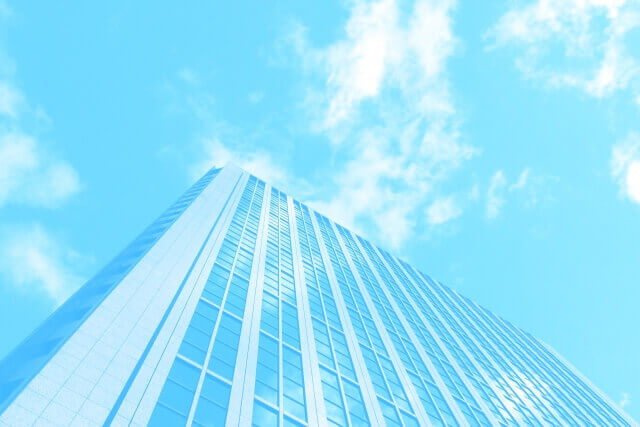 青空と企業