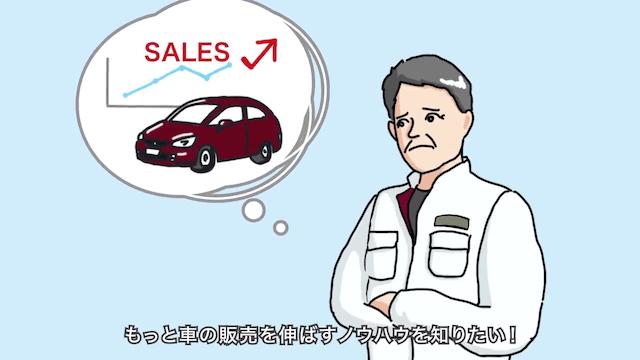 もっと車の販売を伸ばすノウハウを知りたい