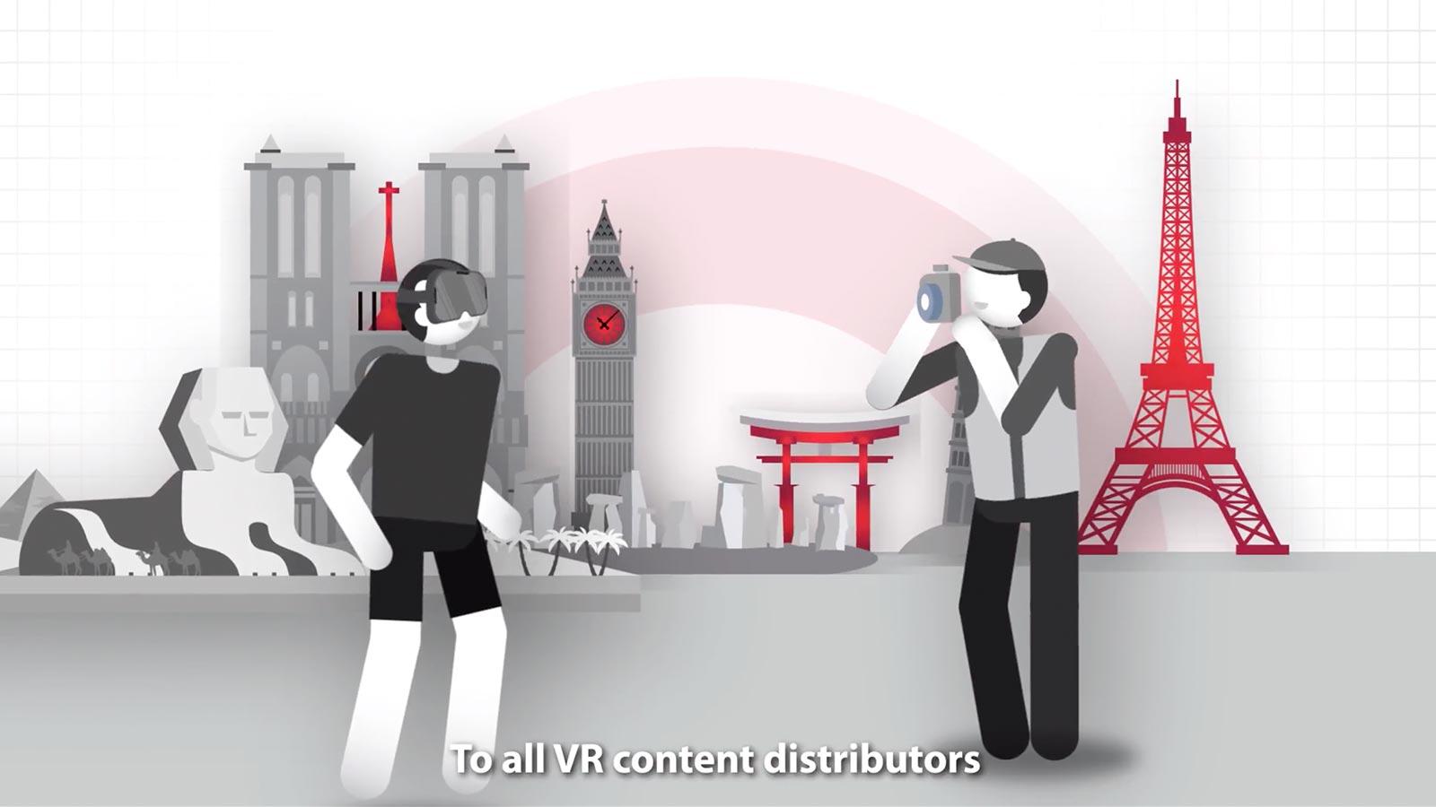 VR動画を楽しむ人と配信する人