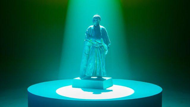 ロゼッタストーン・ラーニングセンター ブランディング動画 銅像篇