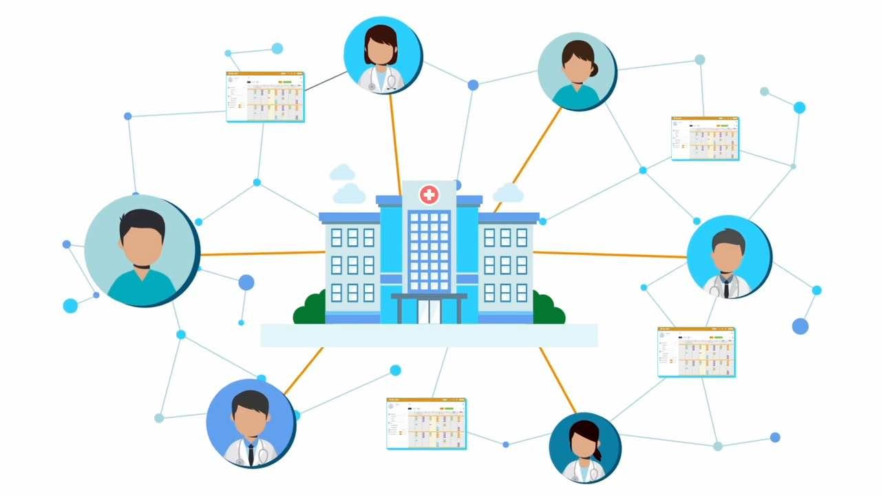 複数の診療科にまたがった管理体制