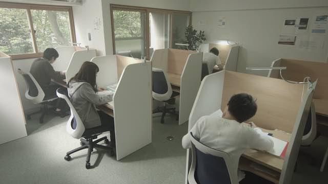 医学生道場の自習室