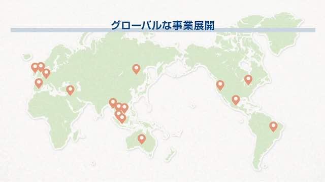 グローバルな事業展開