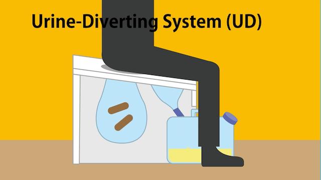 Urine-Diverting System