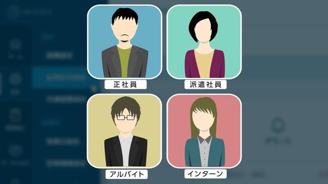 勤怠管理ソフト「AKASHI」マニュアル動画 雇用区分設定編